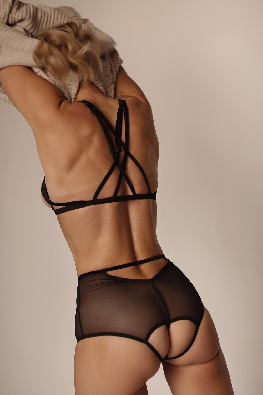 Приучен носить женское белье массажеры для позвоночника фото