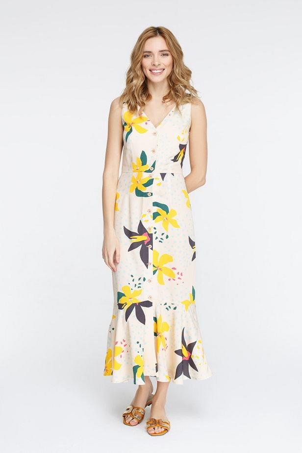 Платья в цветочный принт: выбираем модные модели для лета-2019