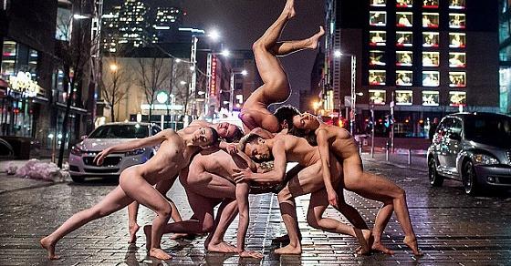 Танцы Балет Шоу С Обнаженными Женщинами