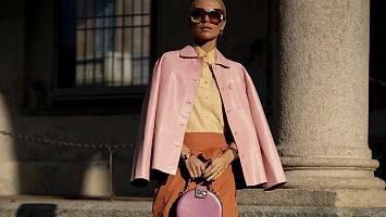 Что носят самые стильные девушки Милана, часть 3