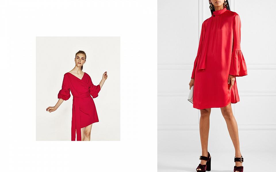 Платья в самом модном цвете Гренадин: 15 стильных идей для Вас (фото) новые фото
