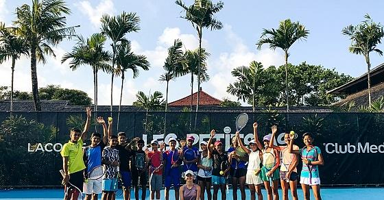 Club Med при поддержке LACOSTE представляют теннисный турнир Les Petit As