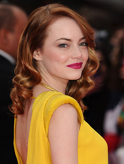 Emma Stone Before and After  The Skincare Edit