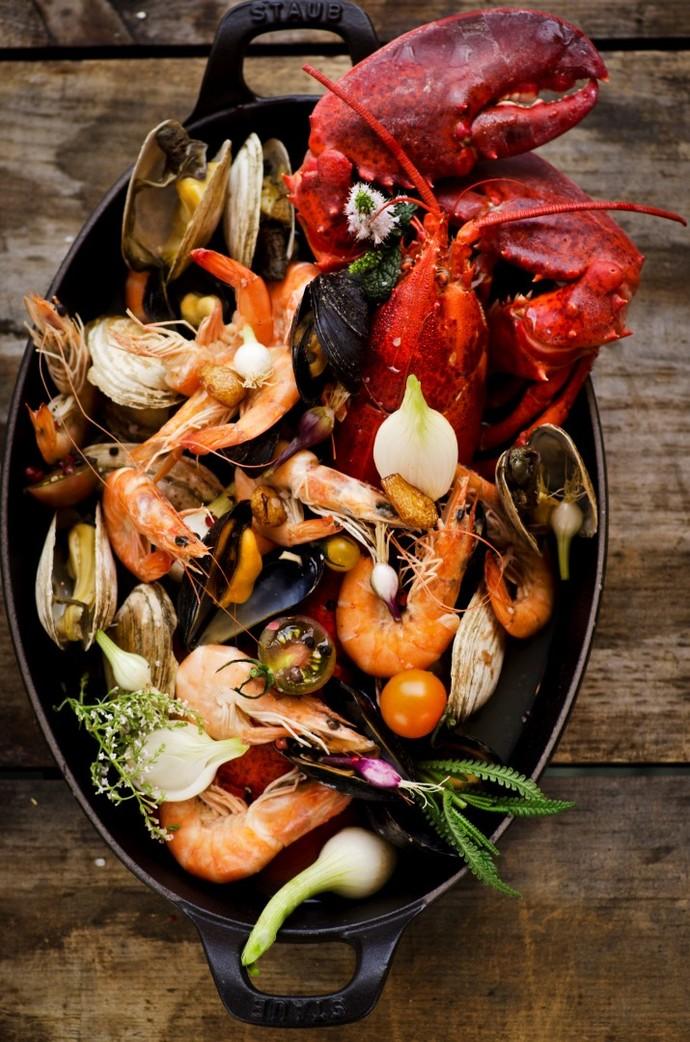Морепродукты при похудении