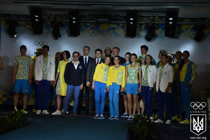 Андре Тан створив олімпійську форму для української збірної 04b06221545bb