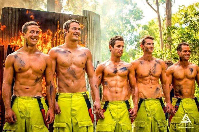 Сексуальная пожарная команда смотреть