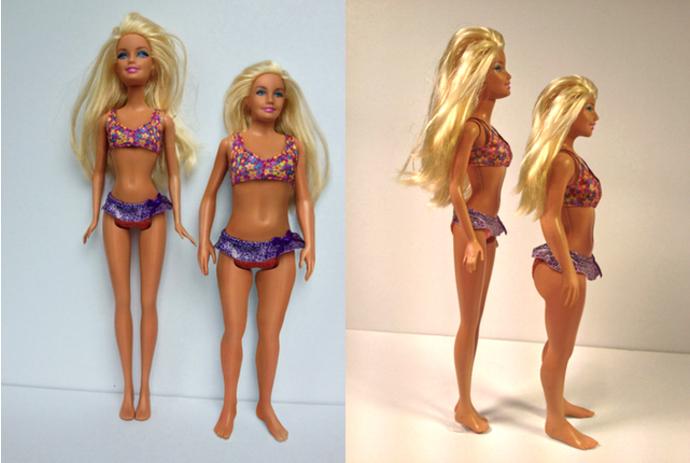 Как сделать в домашних условиях куклу барби 599