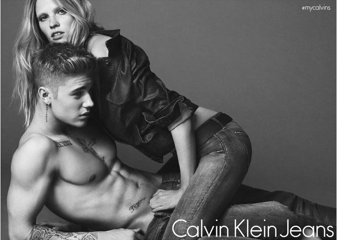 Calvin klein секс реклама