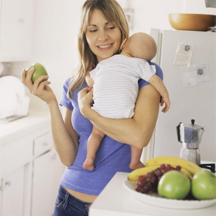 Диета кормящих грудью женщин