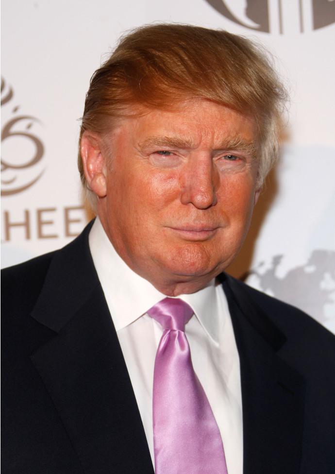 Дональд трамп и его прическа