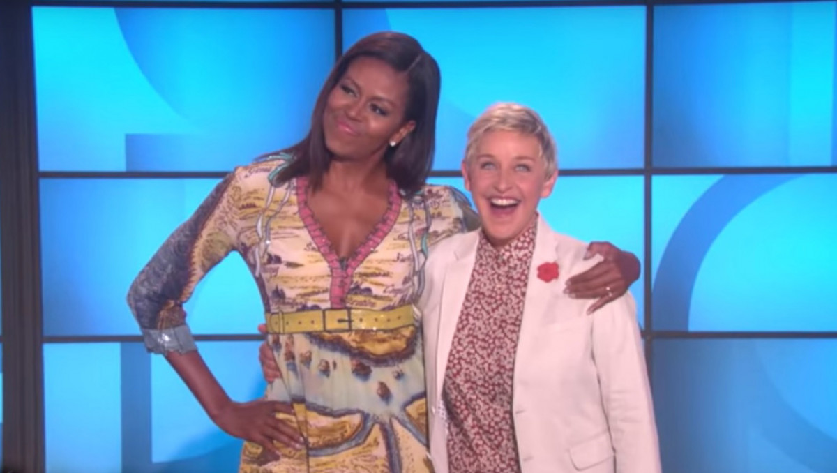 Мишель Обама выступила соведущей напопулярном ТВ-шоу
