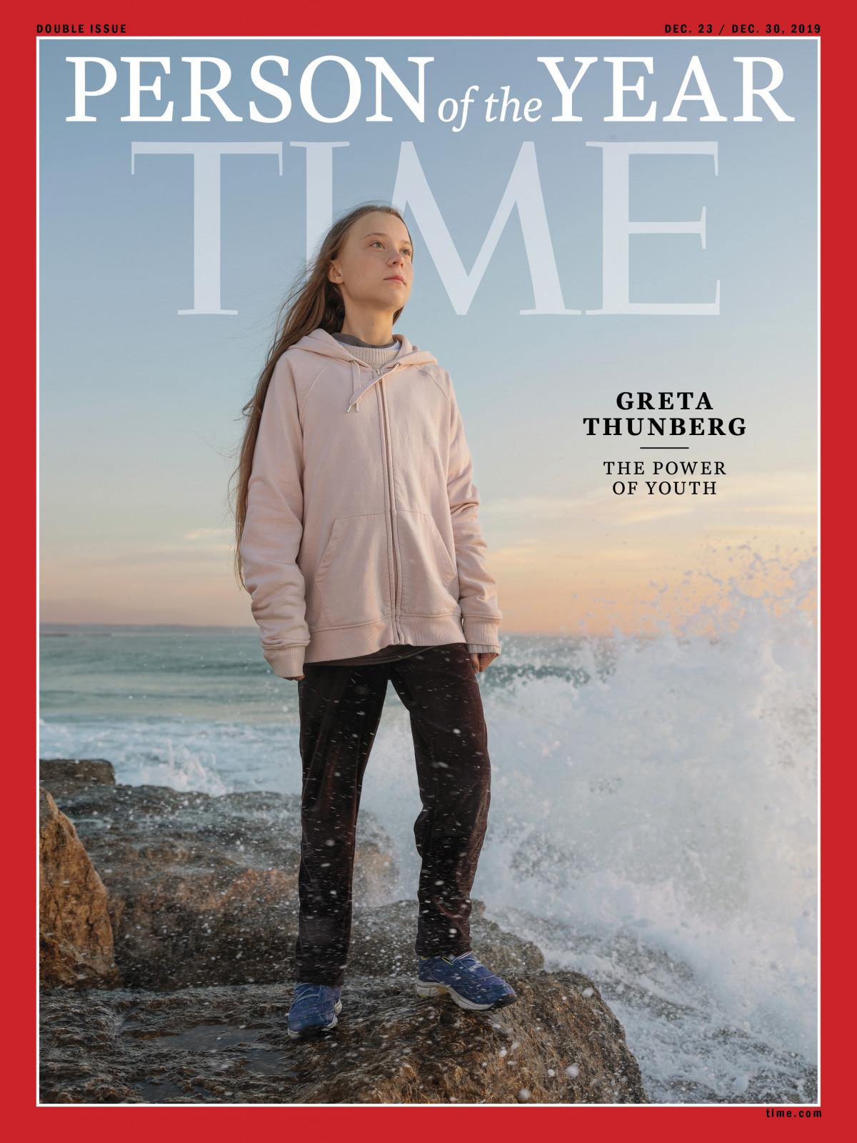 Самый юный Человек года за всю историю Time: 16-летняя Грета Тунберг