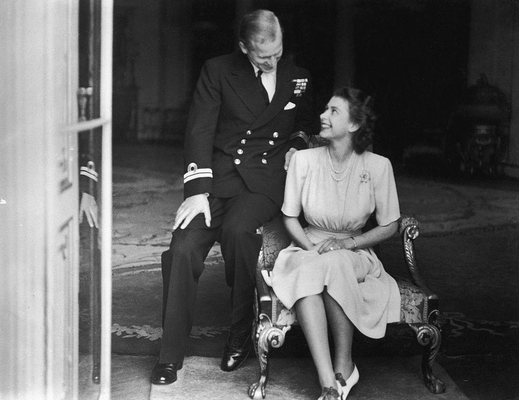 королева Елизавета II и принц Филипп 1
