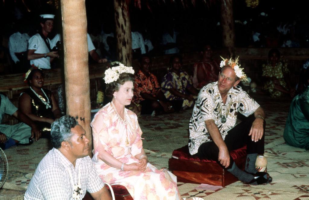 королева Елизавета II и принц Филипп фотографии