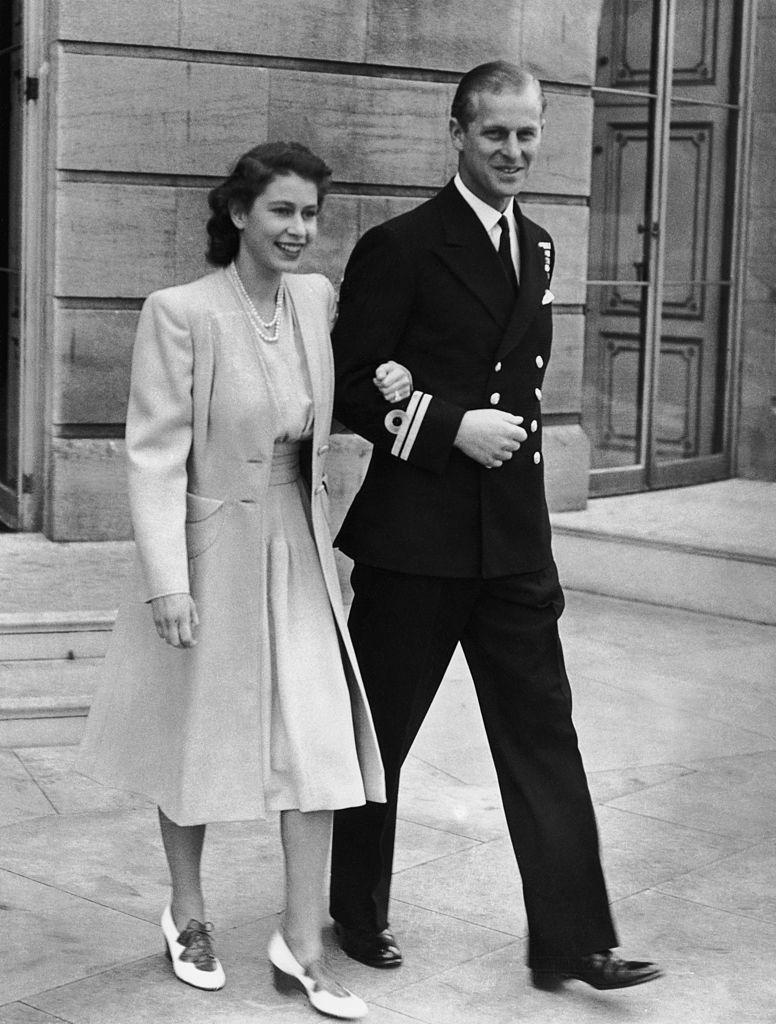 королева Елизавета II и принц Филипп 5