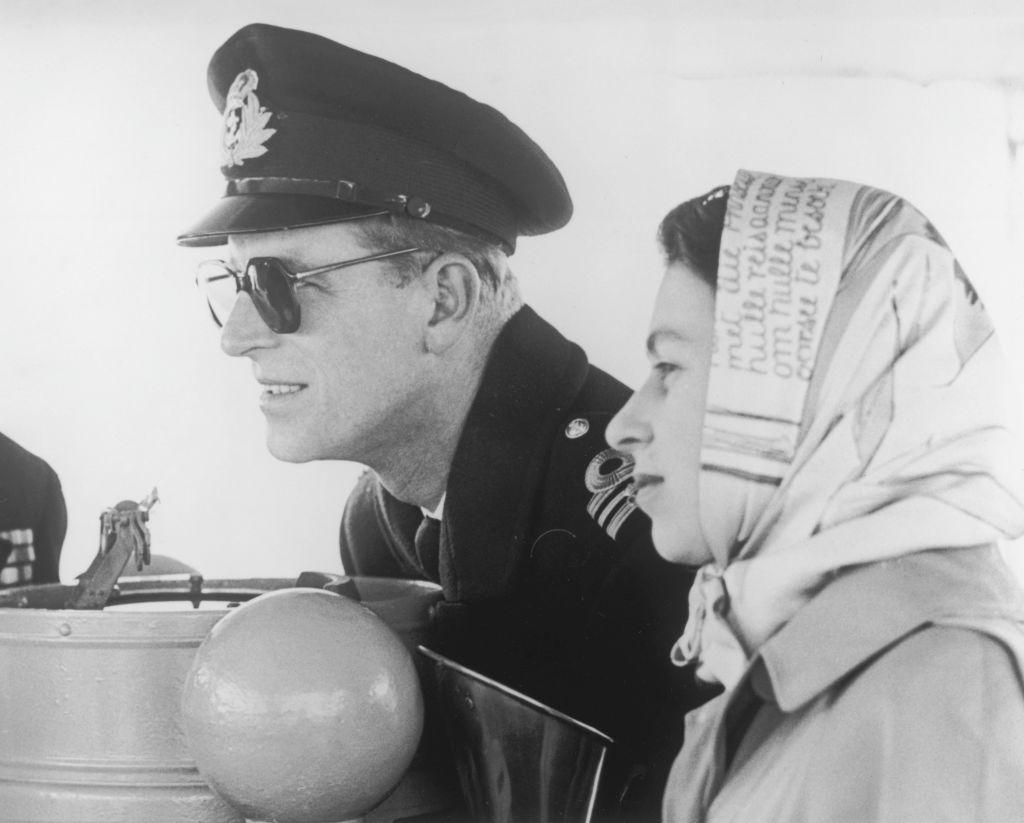 королева Елизавета II и принц Филипп фото