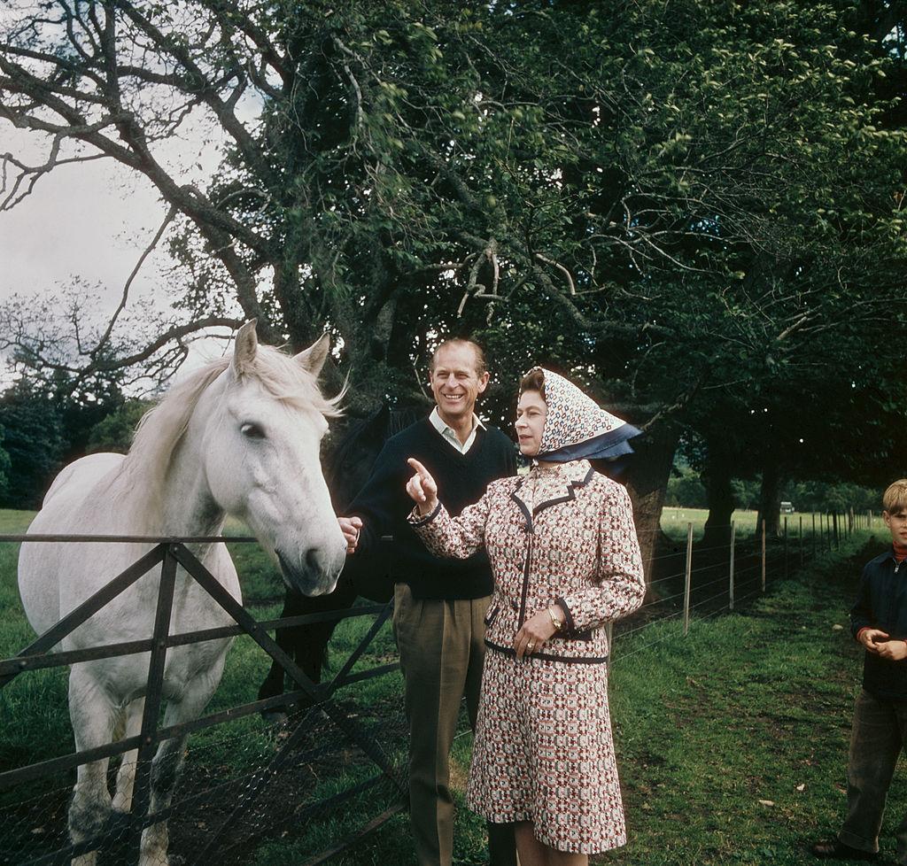 королева Елизавета II и принц Филипп 2