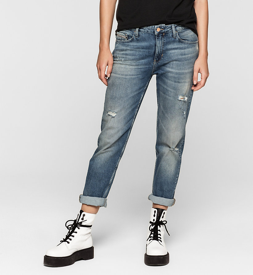 Купить джинсы клеш от колена