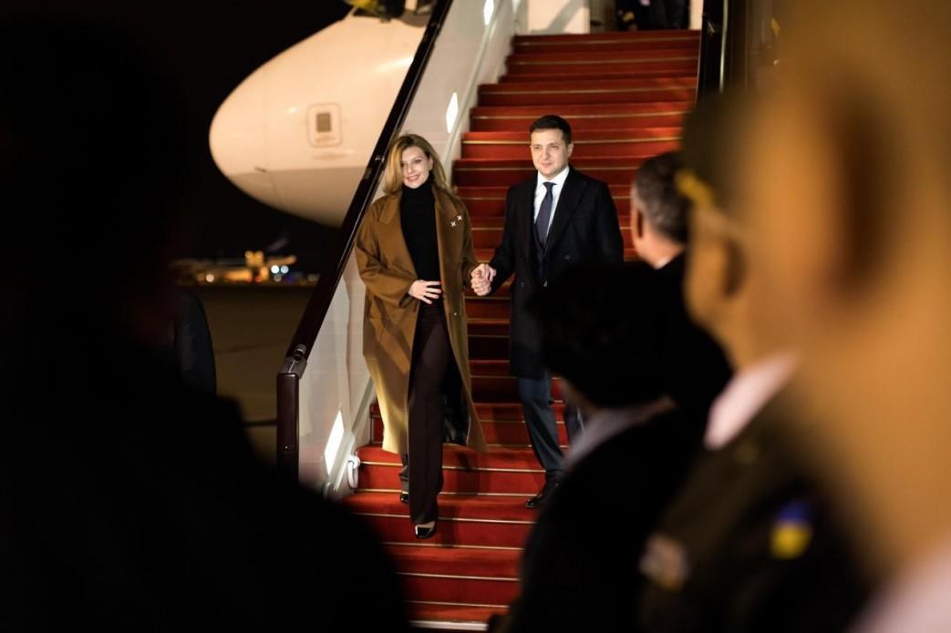 Олена Зеленська прибула до Азербайджану