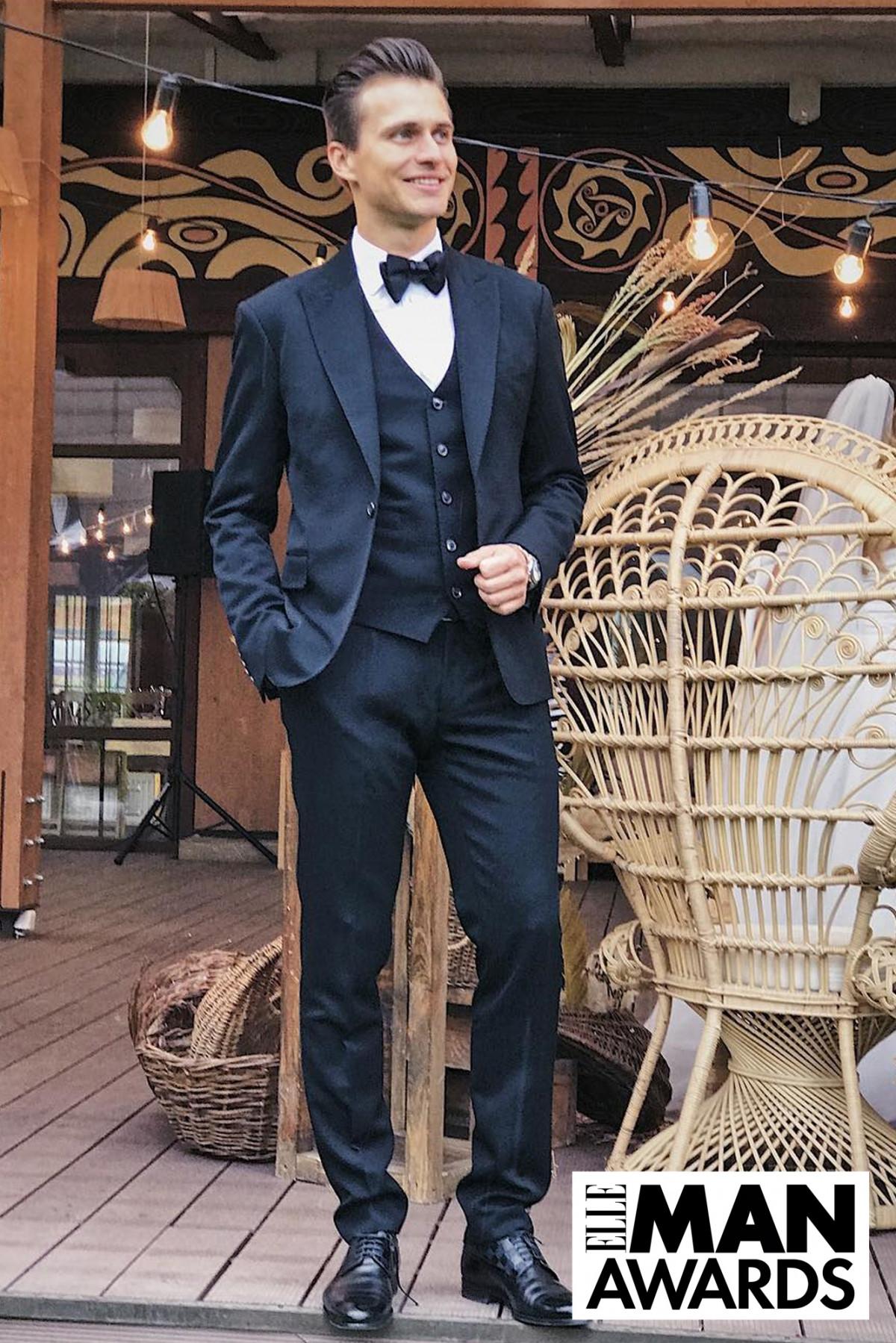 Александр Скичко – победитель в номинации «Самый стильный мужчина страны» по версии читателей ELLE MAN Ukraine