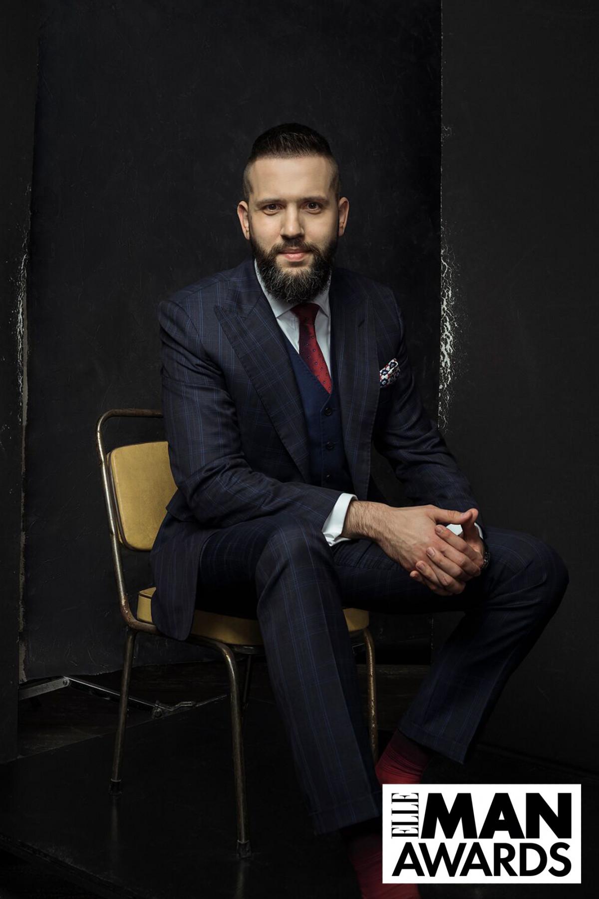 Максим Нефьодов – победитель в номинации «Самый стильный мужчина страны» по версии Indposhiv Bespoke House