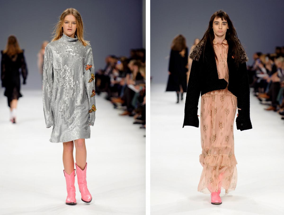 Украинская мода, вышитые платья