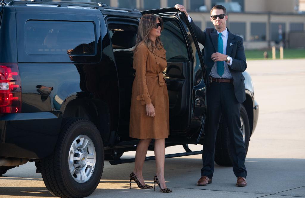 Мелания Трамп путешествует поАфрике без супруга