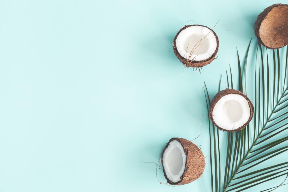 кокосовое масло и загар