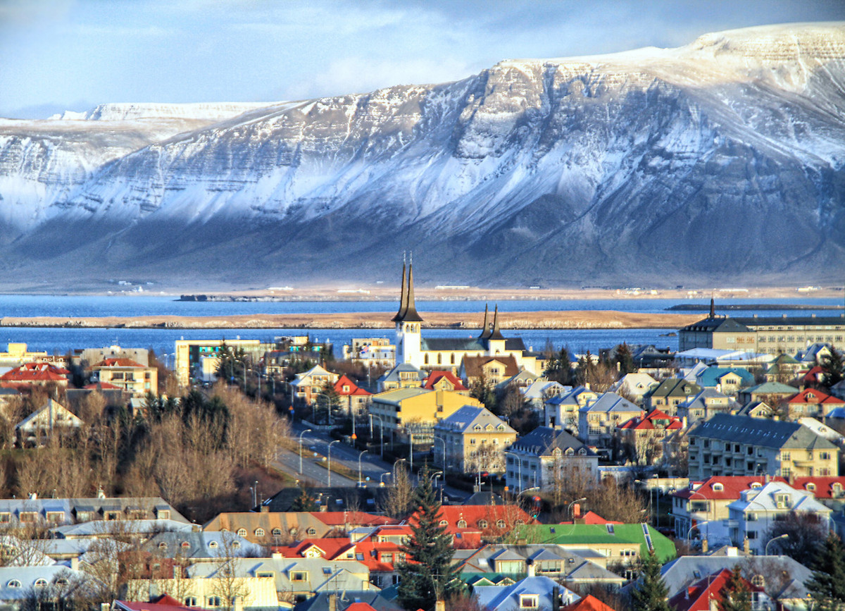 Рейкьявик фото города