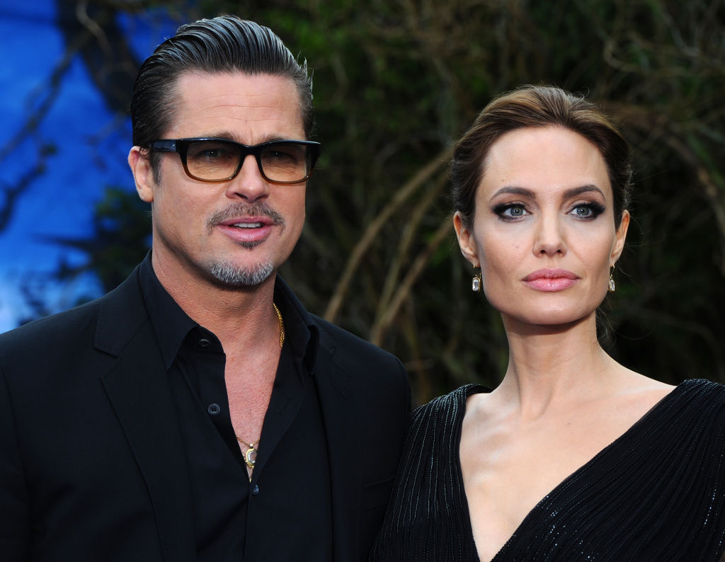 Анджелина Джоли и Брэд Питт