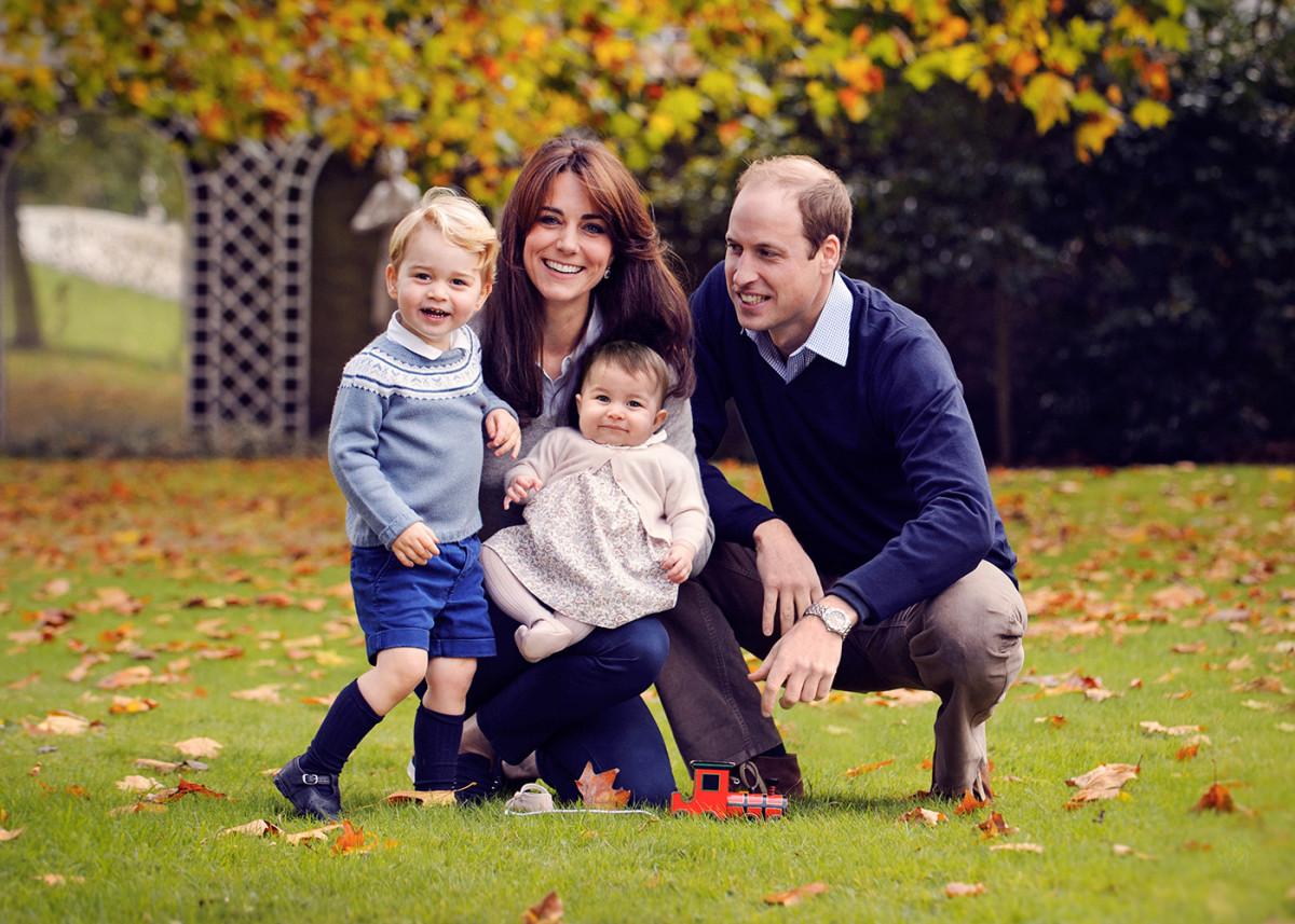 Принц Уильям иКейт Миддлтон посетили Лондонский марафон
