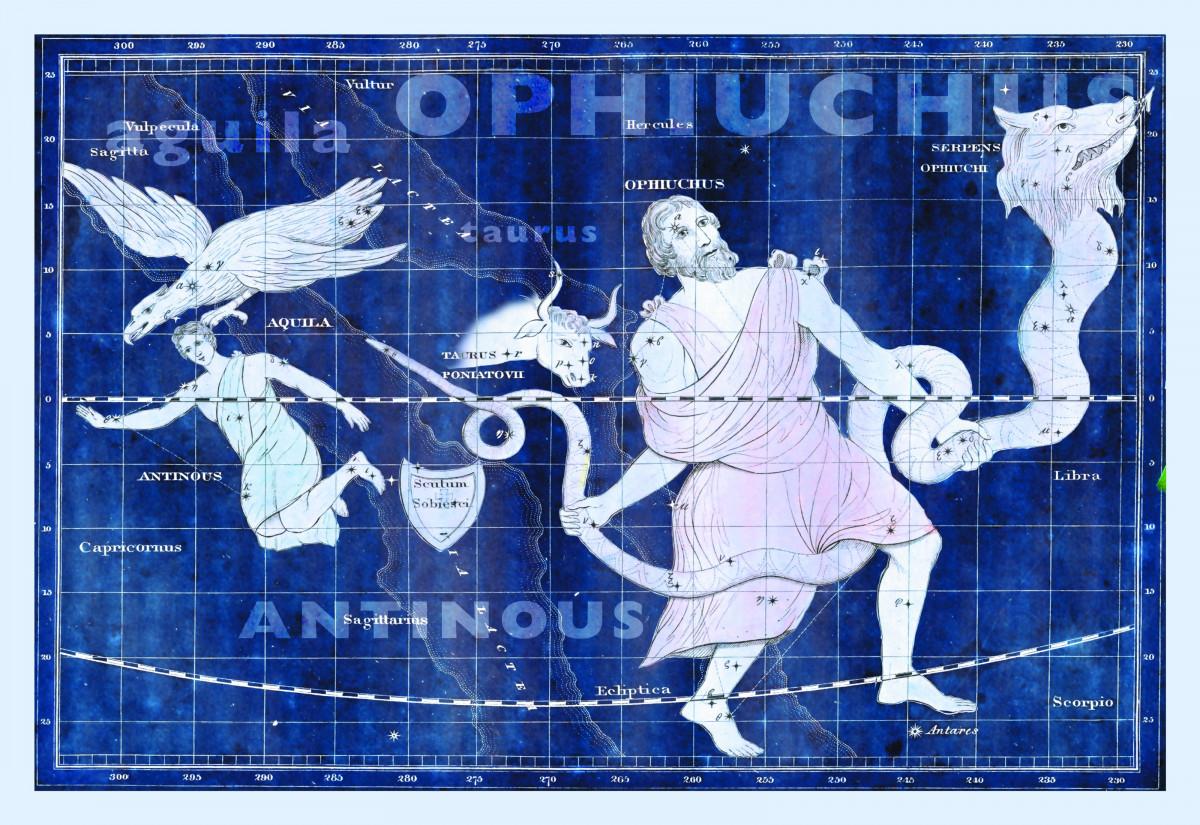 nasa new zodiac signs - HD3200×2200