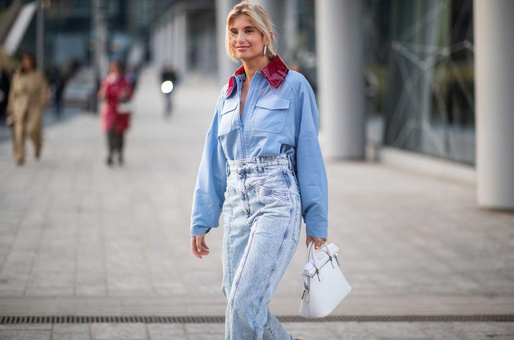 4eb768efc00 стильные луки с джинсами на весну 2019