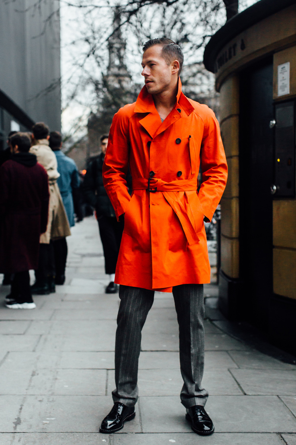 7f6eff48e2c Что носят самые стильные мужчины Лондона 9 января 2018