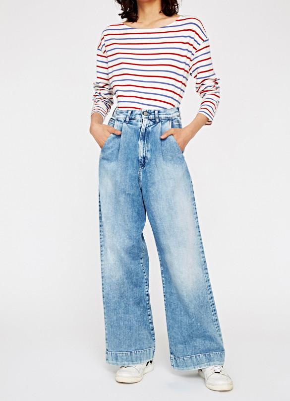 Высокая посадка Pepe Jeans