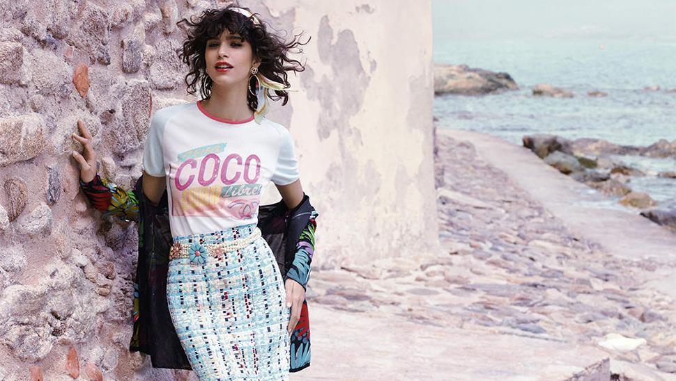 Chanel запускают линии одежды для берега игорнолыжного отдыха