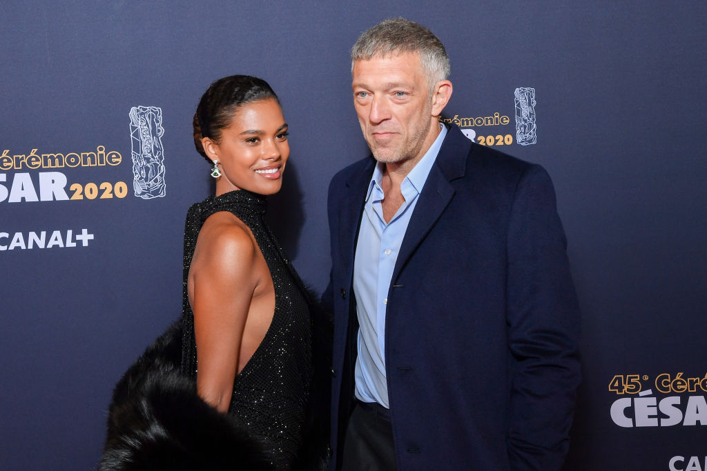 Tina Kunakey Cassel and Vincent Cassel